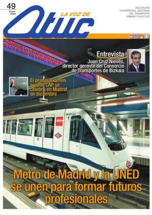 Metro de Madrid y la UNED se unen para formar futuros profesionales