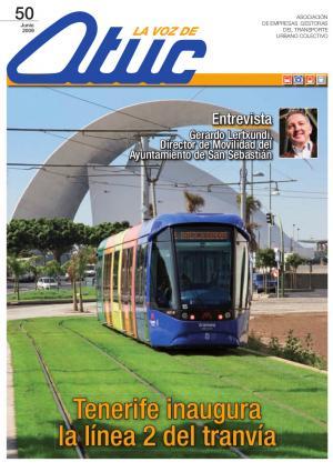 Tenerife inaugura la línea 2 del tranvía
