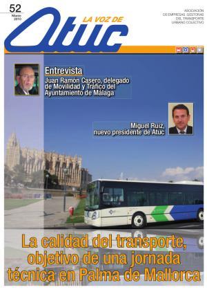 La calidad del transporte, objetivo de una jornada técnica en Palma de Mallorca