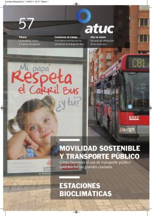 Movilidad sostenible y transporte público