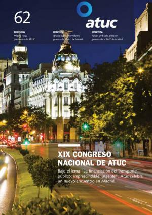 XIX Congreso nacional de Atuc
