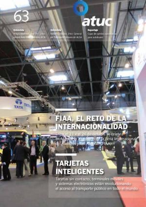 FIAA, el reto de la internacionalidad