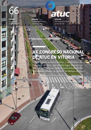XX Congreso nacional de Atuc en Vitoria