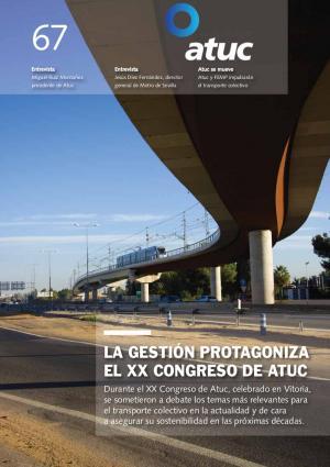 La gestión protagoniza el XX Congreso de Atuc