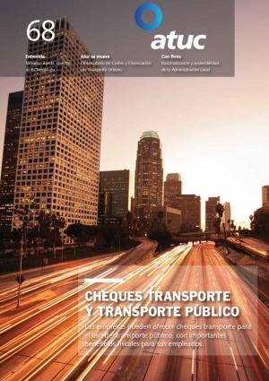 Cheques transporte y transporte público