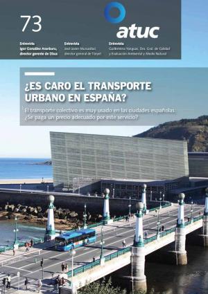 ¿Es caro el transporte urbano en España?