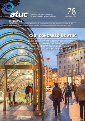 XXIII Congreso de Atuc