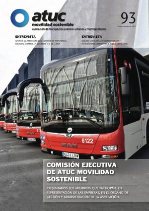 Comisión Ejecutiva de ATUC Movilidad sostenible Nº 93