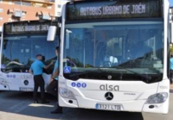 Alsa comienza a prestar el servicio de autobús urbano de Jaén