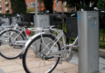 Se amplían las bases para aparcar las bicicletas públicas en Salamanca