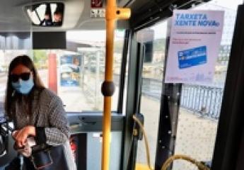 Arranca el nuevo servicio de bus urbano de Pontevedra