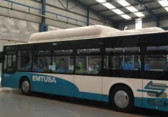 Así son los nuevos autobuses de Emtusa para Huelva