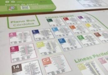 Aucorsa se adapta a lo digital actualizando los mapas y planos de los autobuses de Córdoba