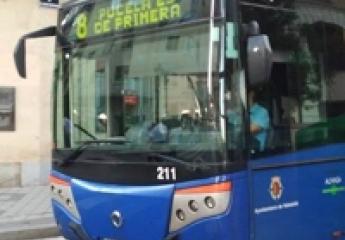 Auvasa limitará los mensajes ajenos en los teleindicadores de los buses de Valladolid
