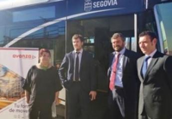 Avanza presenta el plan de innovación tecnológica para el transporte urbano de Segovia