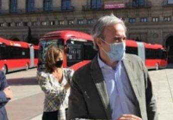 Avanza Zaragoza incorpora 17 nuevos buses articulados e híbridos