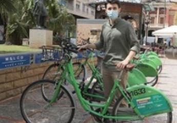 Bicicas (Castelló) recupera en julio el nivel habitual de préstamos y reduce en un 90 % el vandalismo