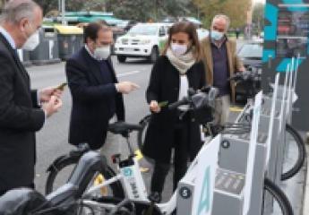 """BiciMAD (Madrid) inaugura cuatro nuevas estaciones con un """"potencial uso multimodal"""""""