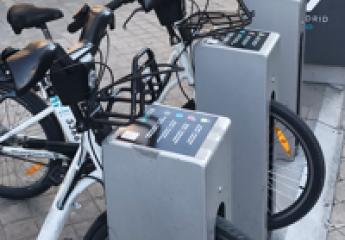 BiciMAD, el servicio de bicicleta pública de Madrid, se abastecerá exclusivamente de energía renovable
