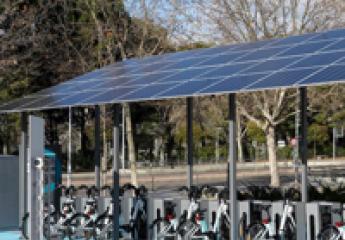 BiciMad estrena tres estaciones alimentadas por energía solar