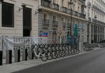 BiciMAD (Madrid) amplía su estación más importante llegando a los 60 anclajes