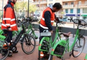 Castelló dispone ya de bicicletas eléctricas para personas con movilidad reducida y más de 55 años