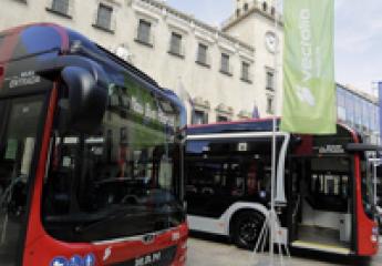 Cinco nuevos autobuses híbridos para la flota de Vectalia en Alicante