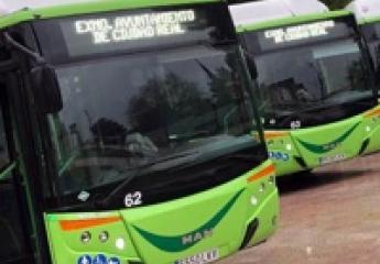 Ciudad Real suma a su flota de urbanos tres nuevos autobuses accesibles y de gas natural