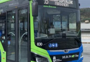 Dbus incorpora doce nuevos vehículos híbridos a la flota de autobuses de San Sebastián
