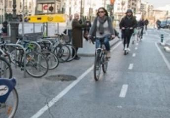 El 25 % de los desplazamientos por los carriles bici de València son ya de patinetes