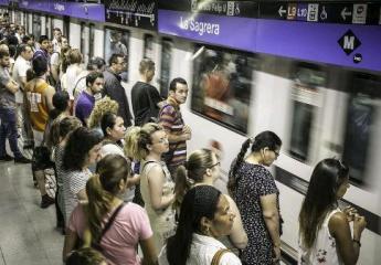 El metro de Barcelona bate su récord histórico de viajeros