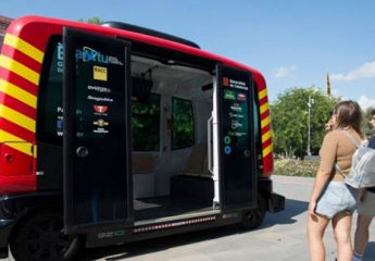 El primer autobús sin conductor inicia su fase de pruebas en Sant Cugat del Vallès