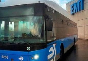 EMT Madrid eliminará todos sus autobuses diésel en 2022