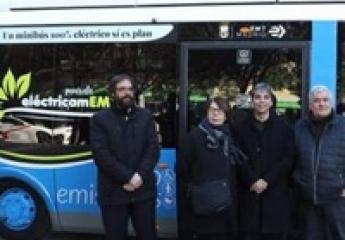La EMT de Madrid renueva la flota de minibuses eléctricos del distrito Centro
