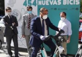 EMT Madrid pone en marcha su servicio de bicicleta eléctrica sin base fija