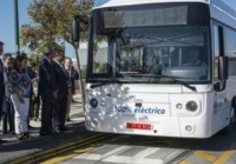 La EMT de Málaga estrena a nivel mundial autobuses eléctricos con carga ultrarrápida desde el suelo