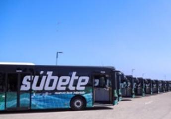 La EMT de Málaga presenta los primeros megabuses híbridos