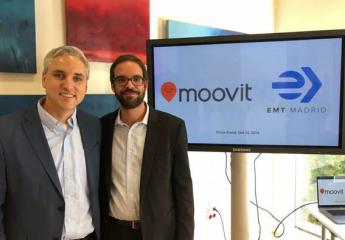 EMT Madrid utilizará el 'big data' de Moovit para mejorar el transporte público
