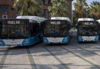 Emtusa Huelva renueva la mitad de su flota