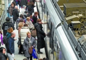 Euskotren cierra 2019 con el mejor dato global de viajeros de su historia