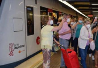 FGV ha invertido más de 10 millones en medidas anti-covid para Metrovalencia y Tram d'Alacant en el último año