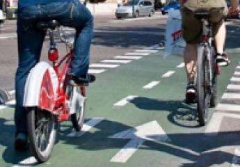 Itinerarios seguros entre municipios, entre los retos de la Estrategia Aragonesa de la Bicicleta