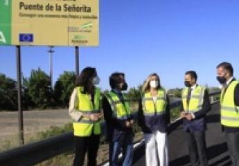 La Junta de Andalucía pone en servicio un nuevo carril bus-VAO de acceso a Sevilla