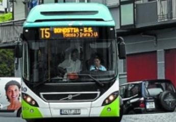 La ley de movilidad vasca plantea medidas disuasorias para reducir el uso del coche
