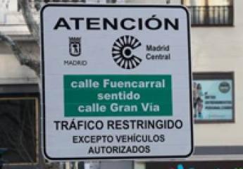 Madrid Central: en tres meses baja un 25% el tráfico en Gran Vía