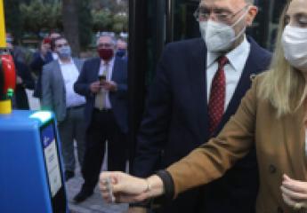 Instalan un nuevo sistema de pago en los autobuses de EMT Málaga