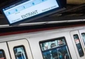El metro de Barcelona empieza a mostrar la ocupación de los coches