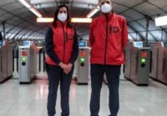 Metro Bilbao estrena sus nuevos uniformes