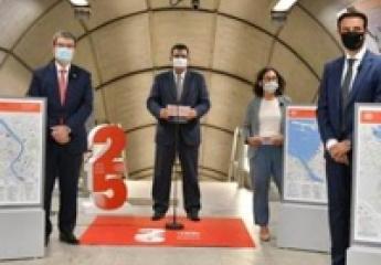 Metro Bilbao renueva sus mapas informativos en las estaciones