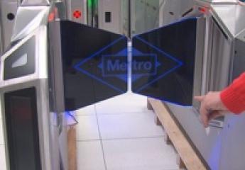 Metro de Madrid presenta sus nuevos tornos de acceso